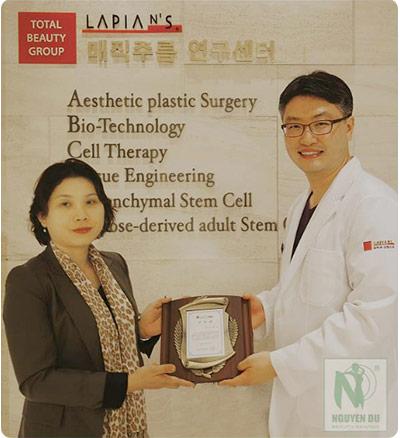 Trung tâm thẩm mỹ Nguyễn Du được chuyển giao công nghệ làm đẹp từ tập đoàn thẩm mỹ Hàn Quốc LAPIAN.